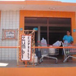 frente da loja