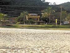 Vista da casa da praia