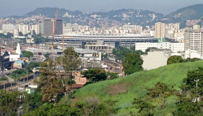 Vista do Estádio do Maracanã