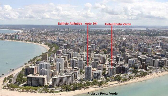 Edifício Atlântida na Ponta Verde
